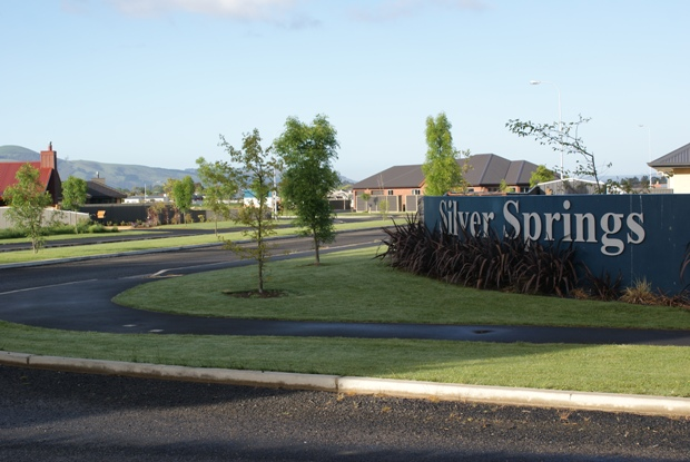 Entrance to Silver Springs